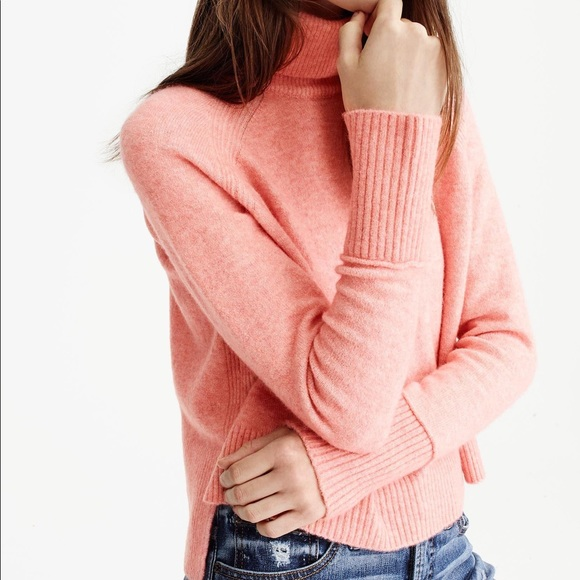 4b2a21906453f5 J. Crew Sweaters - J.Crew Turtleneck sweater with side slits